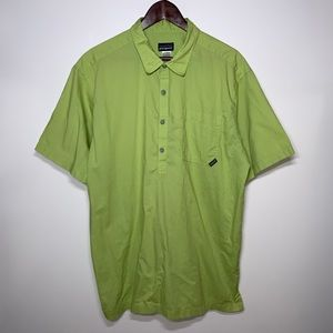 Patagonia Organic Cotton Half Button Up Polo Shirt
